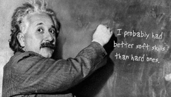 Einstein says